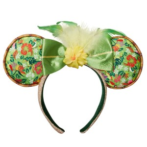 Minnie Mouse- The Main Attraction Enchanted Tiki Room Ear Headband for Adults