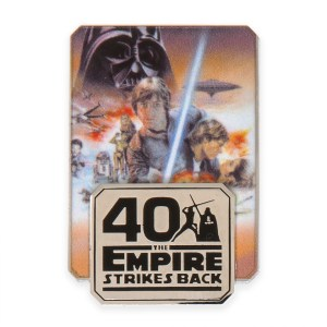 Star Wars- The Empire Strikes Back Pin – 40th Anniversary – Limited Release