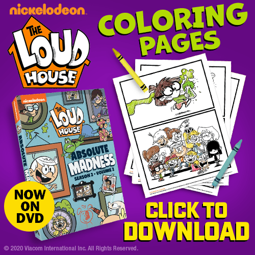 - Coloring Fun With The Loud House: Absolute Madness! The Disney Driven Life