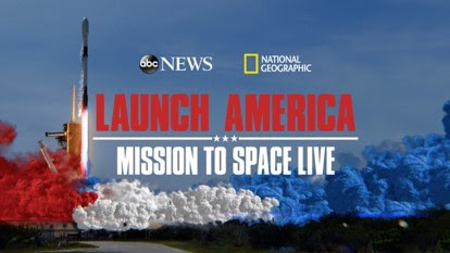 launch America mission to space live