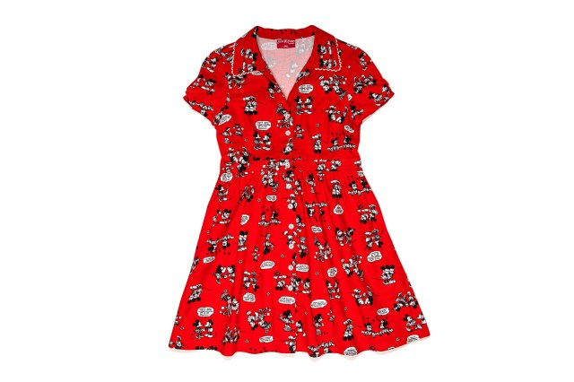 Minnie and Mickey Red Dress