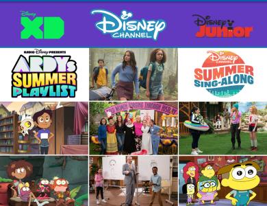 Disney Channel Disney Junior July 2020