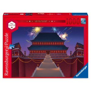 Mulan Imperial Palace Puzzle by Ravensburger – Disney Castle Collection