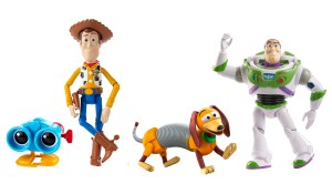 Toy Story Andy's Toy Chest Retro Core Figure 4-pack
