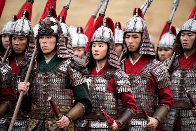 Mulan costume design 3