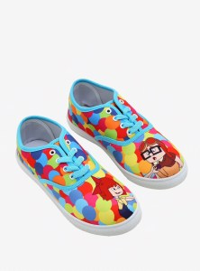Disney and Pixar's Up Carl and Ellie Balloon Lace Ups