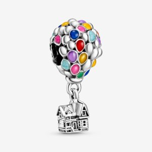 Disney Up House & Balloons Charm