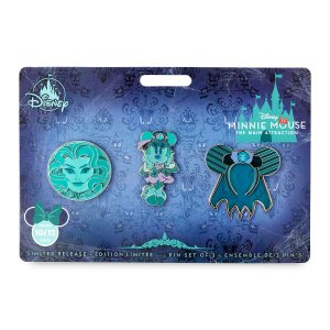 Minnie Mouse The Main Attraction Pin Set – The Haunted Mansion