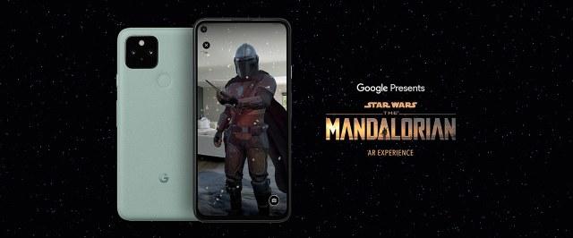 Google's The Mandalorian AR Experience App