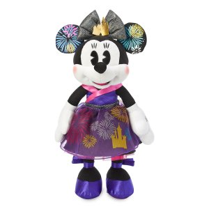 Minnie Mouse The Main Attraction Nighttime Fireworks Castle Finale Plush
