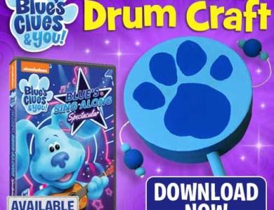 Blues Clues Drum