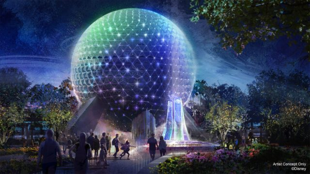 Disney Spaceship Earth Beacon of Magic