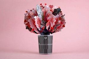 Star Wars death star love explosion bouquet-lovepop