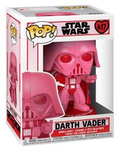 star wars funko pops darth vader valentines