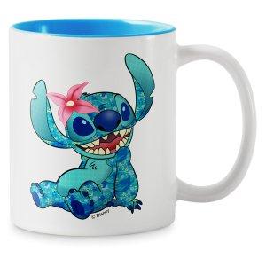 Stitch Crashes Disney Two-Tone Coffee Mug – The Little Mermaid