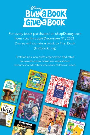 Disney first book buy a book give a book shopdisney