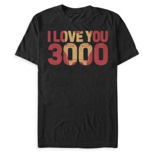 Father's Day ideas Iron Man '' I Love You 3000'' T-Shirt for Men