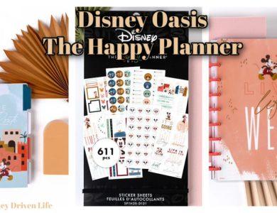 Happy planner disney oasis