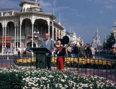 Walt Disney World Resort Dedication Ceremony