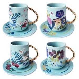 alice in wonderland mary blair tea set
