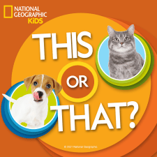 nat geo kids challenge this or that