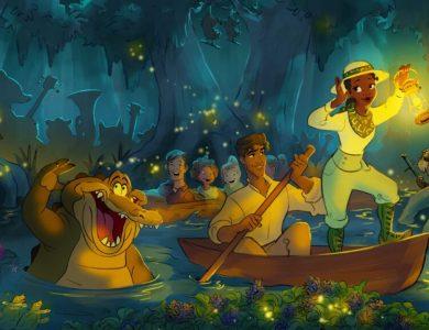 princess Frog Attraction Disney