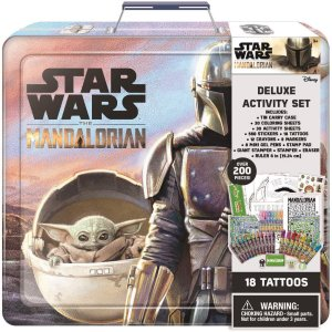 star wars Mandalorian Deluxe Activity Set from Innovative Designs