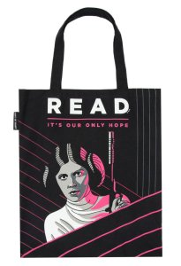star wars Princess Leia READ Tote Bag from Out of Print