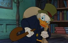 Scrooge as Scrooge in Mickey's Christmas Carol (1983)