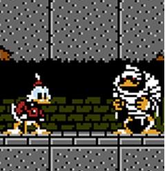 Scrooge in the original Ducktales game (1989)