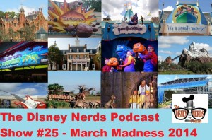 March Madness 2014 - Disney Attraction Style