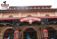 Great Theme at the Trolley Car Cafe