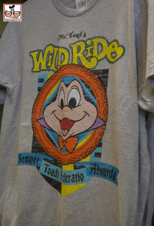 Great new T-Shirts available park wide - this is in Studios.