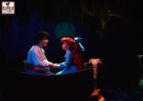 "Under the Sea: Journey of the Little Mermaid has reopened. New lighting and something else in the ""Kiss the Girl"" Seen. Do you know what's new? Comment - and listen to the ""The Disney Nerds Podcast"" for the answer."