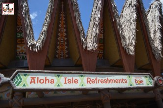 As previously reported, Aloha Isle and Sunshine Tree have changed locations... and the little orange bird missed the move...