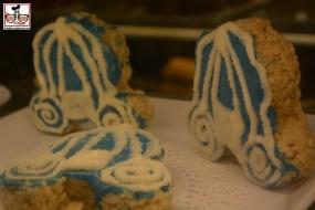 Cinderella Rice Crispy treats for the movie...