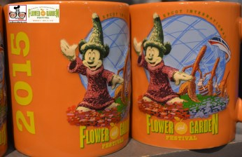 Festival Mugs - Can't wait for #MugMonday - Festival Merchandise available in Mouse Gear - Epcot International Flower and Garden Festival 2015