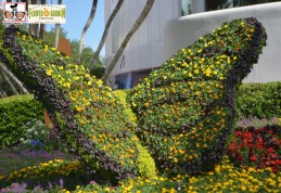 Also new for 2015 - Spring is in the Air - Topiary - Epcot International Flower and Garden Festival 2015