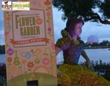 Snow White, near Germany - Epcot International Flower and Garden Festival 2015