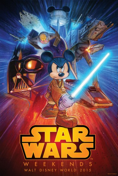 The Disney Nerds Podcast - Star Wars Weekends 2015 - Poster
