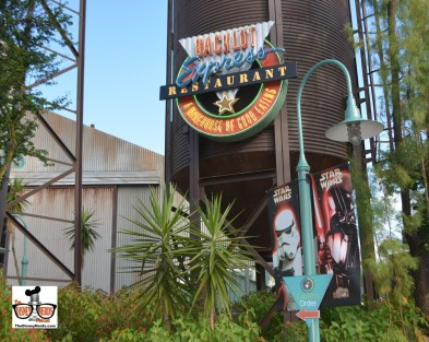 Star Wars Weekend 2015 - Backlot Express doubles as the Rebel Hanger for evening dining