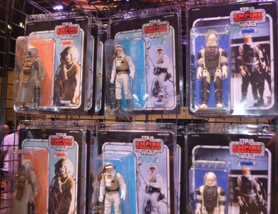 18inch Star Wars Action Figures in X-wing collection