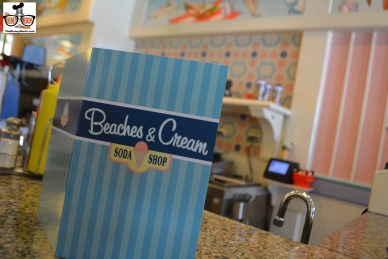 Quick stop at Beaches & Cream for lunch... just because