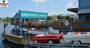 The Amphicar Launch at the recently opened Boat House