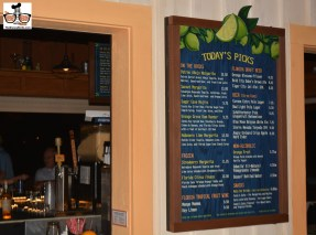 Dockside Margaritas recently opened in the Marketplace here is the menu