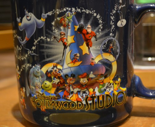 An Old Mug in Mickey's of Hollywood - Get your hat before it's gone...