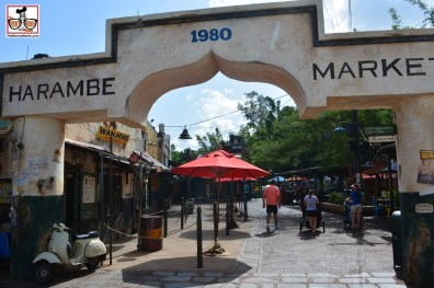 """The Harambe Market includes: """"Inspired African-style ribs, chicken, sausages, corn dogs and African Wine and Beer."""""""