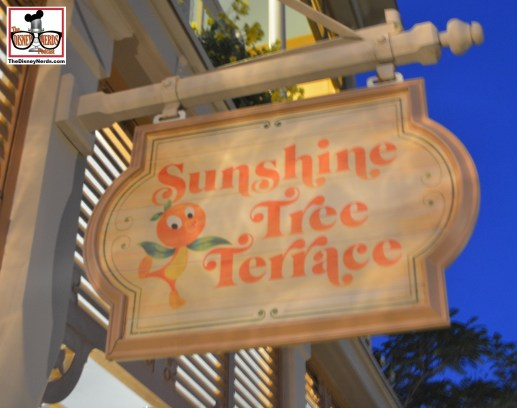 Little Orange Bird at the new Sunshine Tree Terrace Location - which was Aloha Isle... I'm confused - wheres my map.