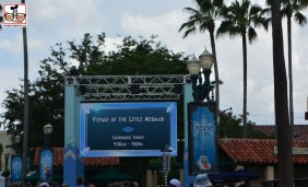 The Screens that where part of Star Wars Weekends have made their way around the park. Two are at the corner of Hollywood and sunset, the new information boards.