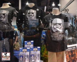The D23 Dream Store included some new Star Wars T-shirts
